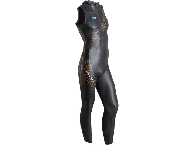 blueseventy Reaction Traje Triatlón sin mangas Hombre, black